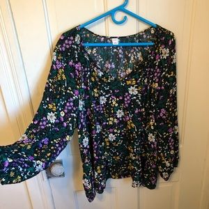XL old navy flowy shirt